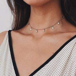 Jewelry - Choker necklace silver tone